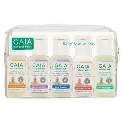 Gaia Natural Baby Starter Kit 5 x 50ml