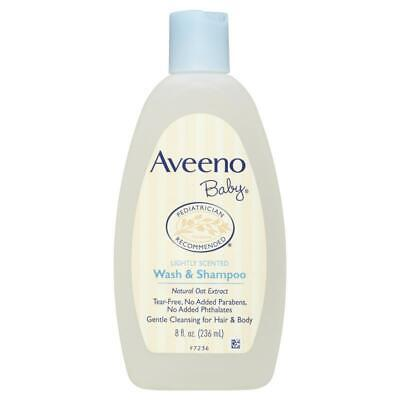 Aveeno Baby Wash & Shampoo 236mL