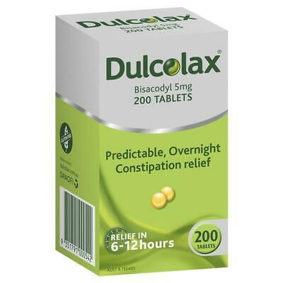 Dulcolax 5mg Tablets 200 (Limit of TWO per Order)