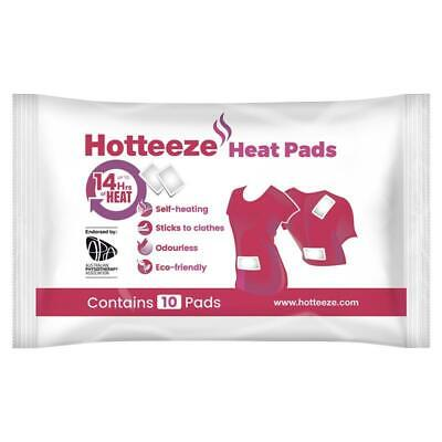 Hotteeze Heat Pads Pain Relief Patches for Period, Back and Shoulder pain 10 ...