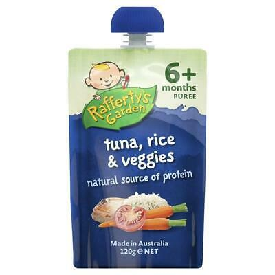 Raffertys Garden 6+ Months Tuna Rice & Vegetable Puree 120g
