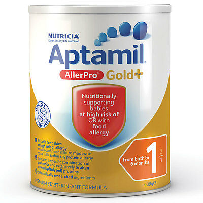 Karicare Aptamil Gold+ 1 AllerPro Infant Formula From Birth 0-6 Months 900g