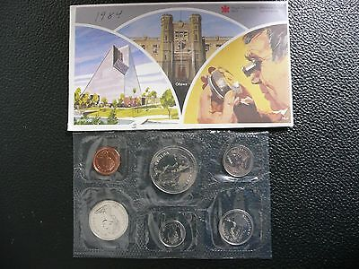 1984 Canadian Mint Prooflike 6 Coin Set