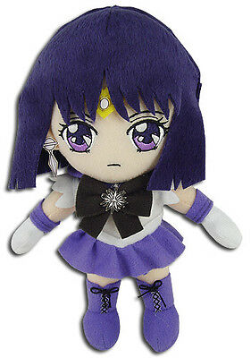 Sailor Moon S Sailor Saturn Plush New Tag Official Licensed GE Animation