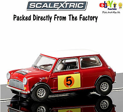 New In Scalextric Slot Car  Mini Cooper S - RAC Rally 1966 C3747