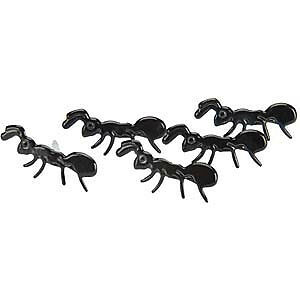NEW Eyelet Outlet Shape Brads 12 Pack - Ants