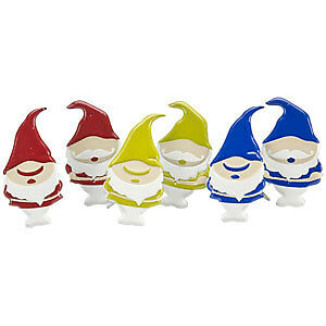 NEW Eyelet Outlet Shape Brads 12 Pack  Gnomes