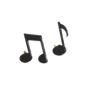 NEW Eyelet Outlet Shape Brads 12 Pack  Music Notes