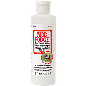 NEW Mod Podge Photo Transfer Medium 8 Ounces