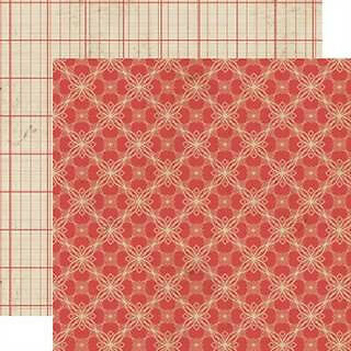 NEW Lily Bee Designs - Memorandum - Boardroom 12X12 D/Sided Paper  (Pack Of 10)