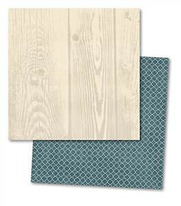 Teresa Collins - Now & Then - Woodgrain 12X12 D/Sided Paper  (Pack Of 10)