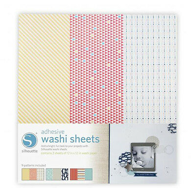 NEW Silhouette - Adhesive Washi Sheets