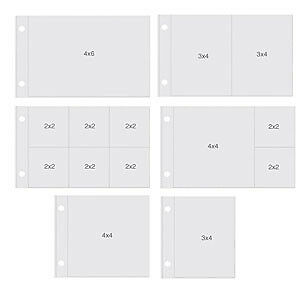 Simple Stories - Sn@P! Pocket Pages For 4In. X6in.  Binders 12 Pack Horizonta...