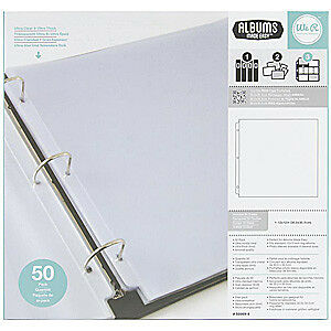 NEW We R Memory Keepers - 12X12 Ring Protectors
