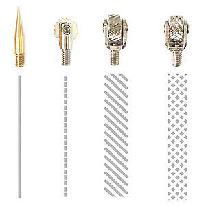 NEW We R Memory Keepers Fuse Tool Tips 4 Pack  Decorative Cutting & Fusing