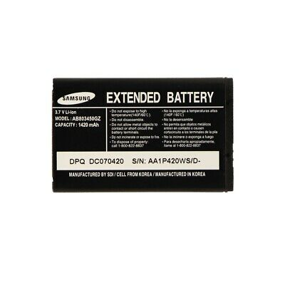 New OEM Original Samsung Extended Battery AB803450GZ for  U550 SCH SGH U540