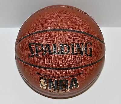 "Spalding NBA Zi/O Excel Composite Leather Basketball Official Size 7 (29.5"") NEW"