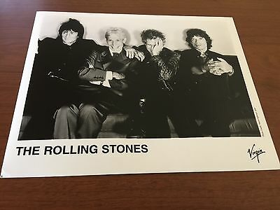 The Rolling Stones Original 10 X 8  Publicity Press Kit Photo 1997
