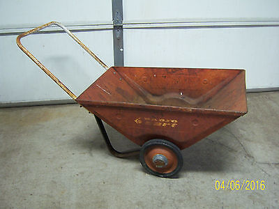 Vintage Radio Cart Lawn Garden Cart WheelBarrow Radio Flyer Rustic Decor Farm