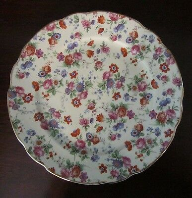 Dorset Cheery Chintz - Germany,  Luncheon / Salad Plate 9 nches