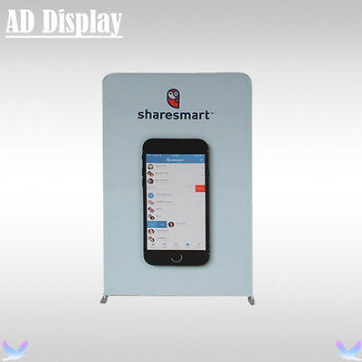 150*228cm Portable Aluminum Display Wall Stand With Single Side Printed Banner