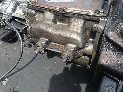 Ford Falcon Gearbox Manual, 6CYL, 4 SPEED, XC-XF, 07/76-02/88