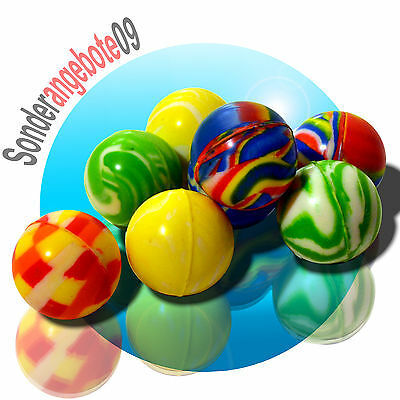 2x 10x 100x 300x Flummis Flummi Springball 32mm Hüpfball Bouncing Ball Tombola