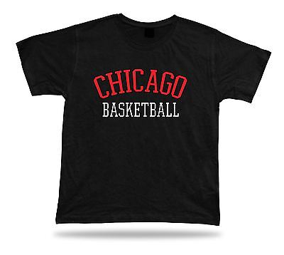 Chicago USA BASKETBALL t-shirt tee warm up style court side design