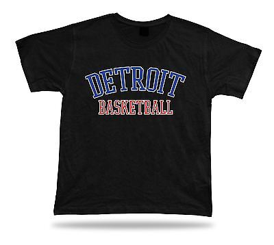 Detroit USA BASKETBALL t-shirt tee warm up style court side design