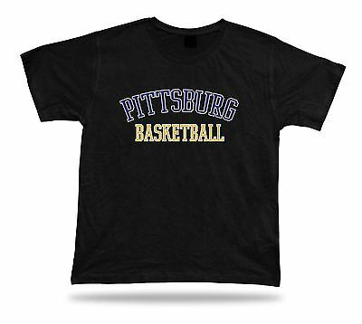 Pittsburgh USA BASKETBALL t-shirt tee warm up style court side design