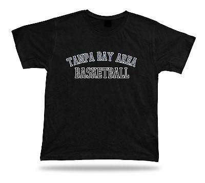 Tampa Bay Area USA BASKETBALL t-shirt tee warm up style court side design