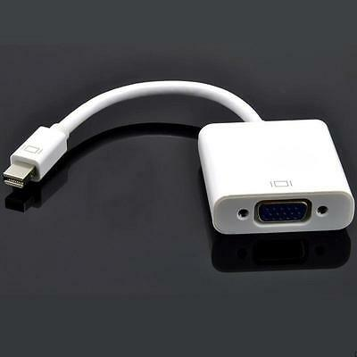 Mini Display Port DP to VGA Cable Adapter Converter for Surface Pro iMac Macbook