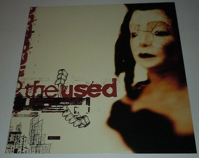 THE USED~Promo Poster Flat~Double Sided~12x12~NM~2002~