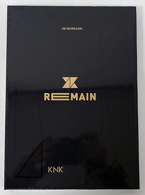 KNK - Remain (2nd Mini Album) CD+Photobook+Standing Paper+Photocard+Poster