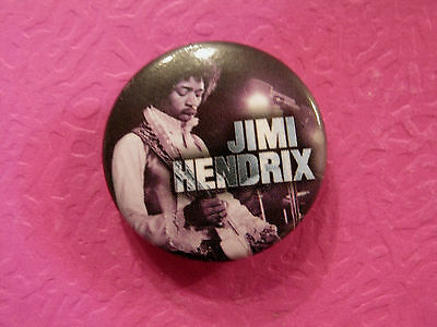 "New Hendrix Button  1""  Badge Pin Official Uk Made"