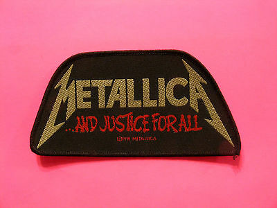 Official Vintage 1991 Metallica Woven Patch  Sew On Uk Import