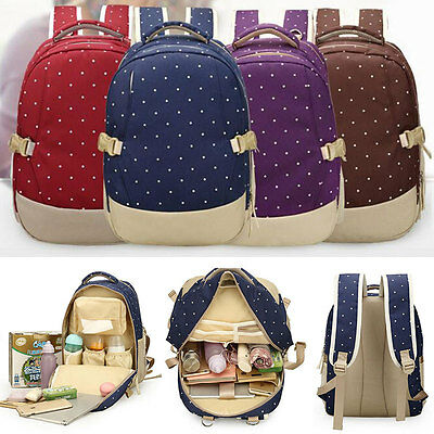 Mummy Shoulder Bags Multifunction Baby Nappy Diaper Bag Backpack