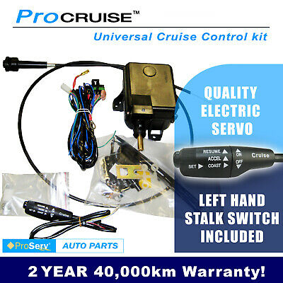 Universal Cruise Control Kit, electric servo(With LH Stalk control switch)MANUAL