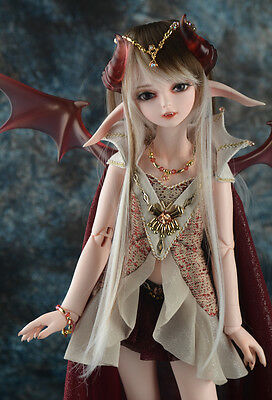 1/4 BJD doll Girl soom Turb & Roxen FREE FACE MAKE UP+FREE EYES_with wing
