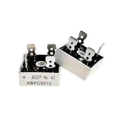 Hot KBPC5010 1000 Volt Bridge Rectifier 50 Amp 50A Metal Case Diode Bridges