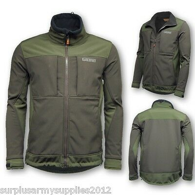 Mens Soft Shell Viper Jacket S-2Xl Waterproof Hunting Fishing Shooting Coat