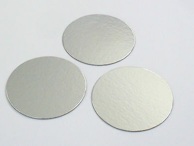10 ROUND CAKE BOARDS 1mm THICK