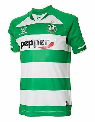 Brand New Genuine Shamrock Rovers 2015/16 Home Shirt Junior Boys M & L