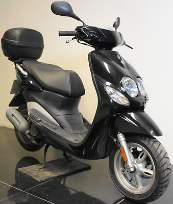 2010 60 Yamaha Yn 50 F Neos 4 Stroke Black Moped/scooter Damaged/spares/repair