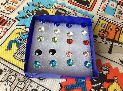 Wholesale Job Lot 10 Pairs Earrings Large Studs