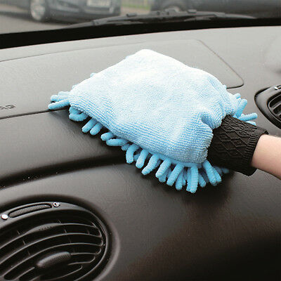 Microfibre Car Cleaning Glove and All Surface Household Dusting Polishing Mitt
