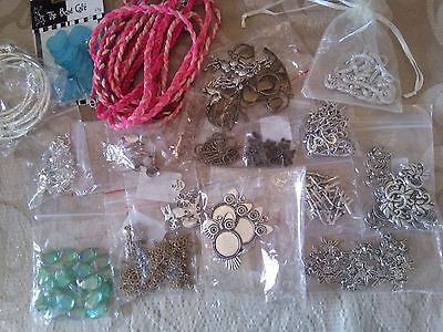 Job Lot Of Jewellery Making Charms / Clasps / Pendants /beads / Connectors