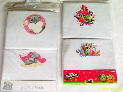 Girl`s 2 Pack Ever Popular Character Vests