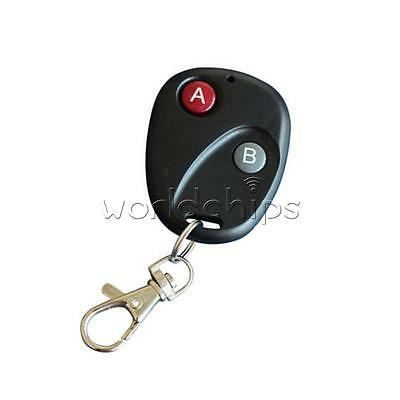 RF Gate Key Remote Control Garage Door Transmitter Wireless 315MHz/433MHz