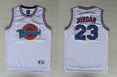 Space Jam Michael Jordn 23 Jersey Tune Squad Jersey Basketball White New
